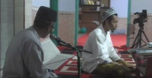 Khotmil qur'an dalam rangka Imtihan Yayasan Al Falah Leces yang ke - 29