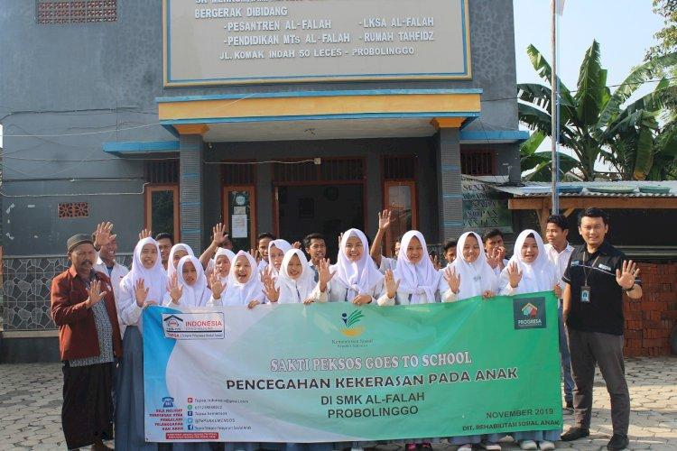 Peksos Go To School di SMK Al Falah Leces