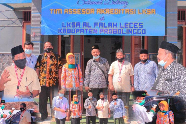Kegiatan Visitasi Akreditasi LKS di LKSA Al Falah Leces Probolinggo